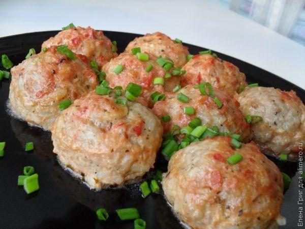 Рецепты куриных тефтелей в томатном соусе в духовке