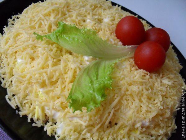 Рецепт салат мужские грезы