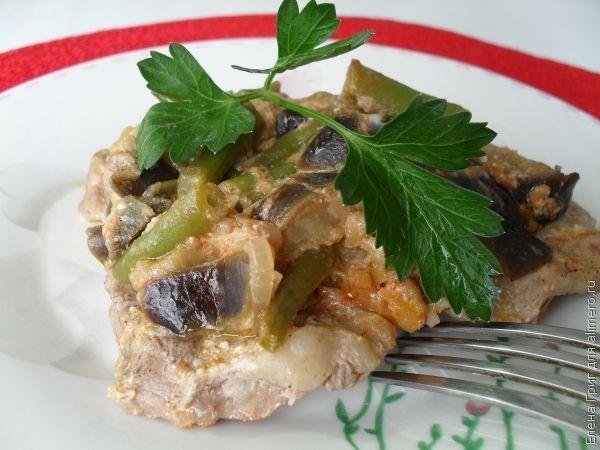 мяса с овощами в духовке рецепты с фото