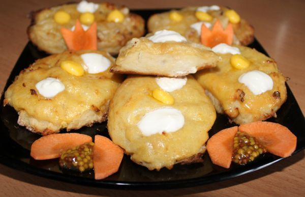 котлеты из овощей в духовке рецепт