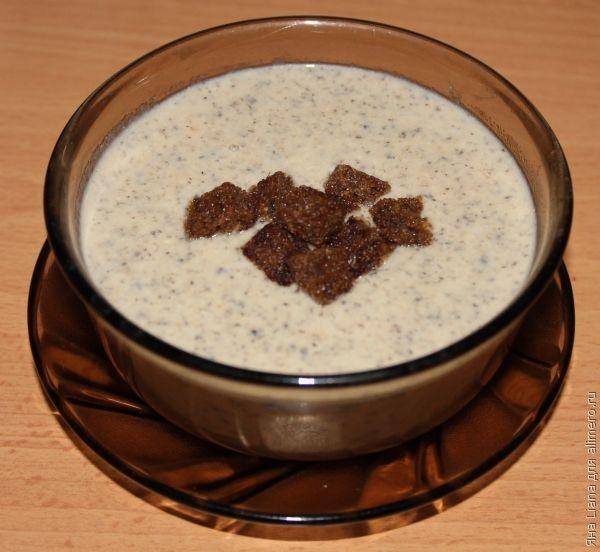 Сливочный крем суп из шампиньонов