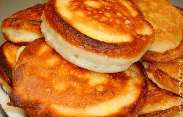 оладьи на кефире с тыквой пышные рецепт с фото