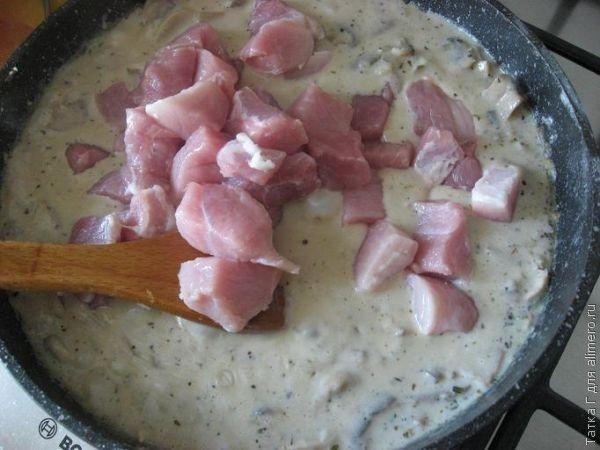 Свиные отбивные в молоке рецепт