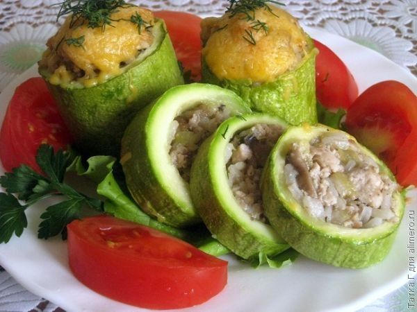 Блюда из кабачков - Gastronom ru