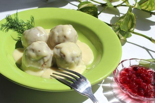 рецепт приготовления фрикаделек с картошкой в духовке