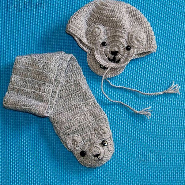 Мне очень понравился этот комплектик. От таких симпатичных шапочки и шарфика будет в восторге любой малыш.