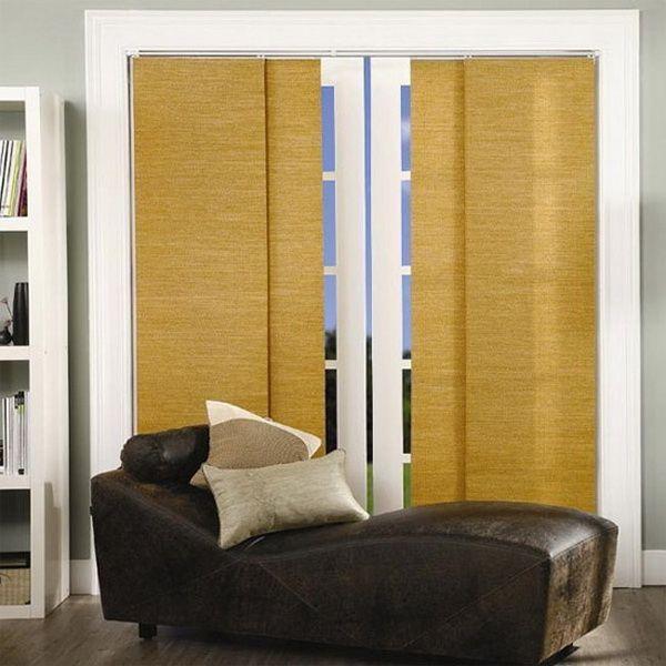 Очень простые римские шторы, которые добавляют интерьеру особого стиля и утонченности.