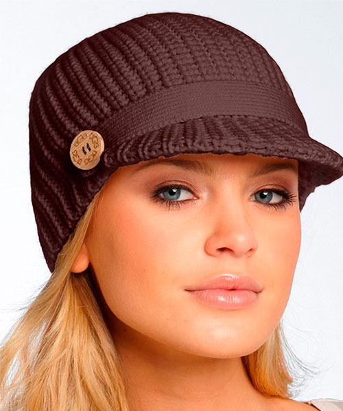 Нити как связать модную шапку сезона