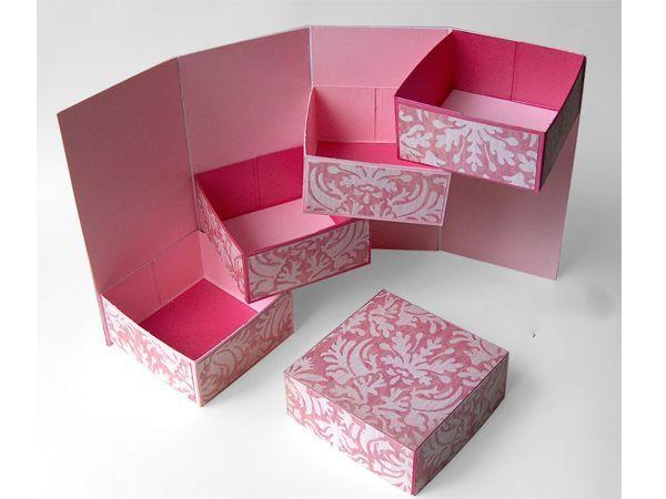 Можно сделать своими руками коробки 4