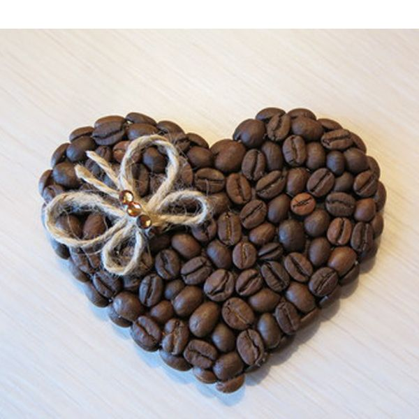 Поделки с кофейных зерен своими руками