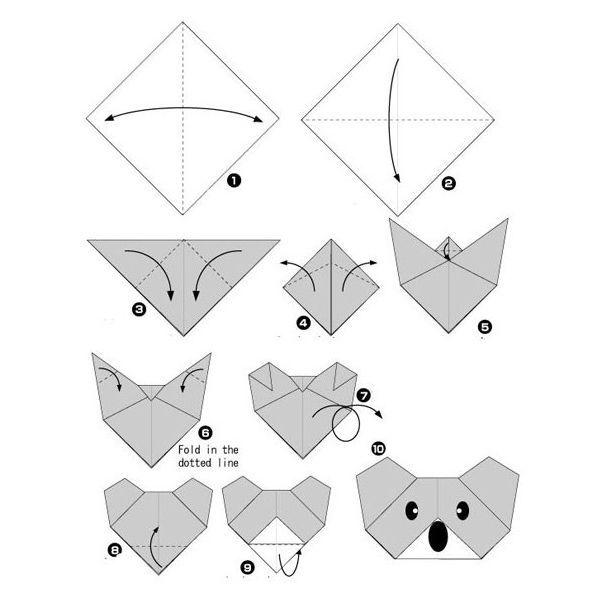 Скачать поделки из бумаги своими руками схемы