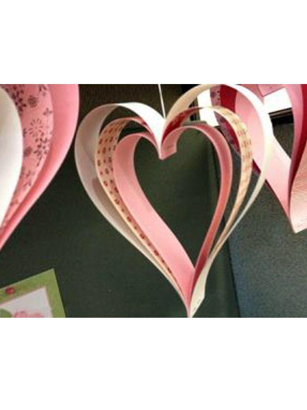 Как сделать из цветной бумаги красивую поделку