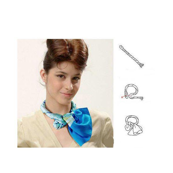 Обладательницы тонкой шеи могут побаловать себя роскошными бантами и пушистыми, короткими шарфами.