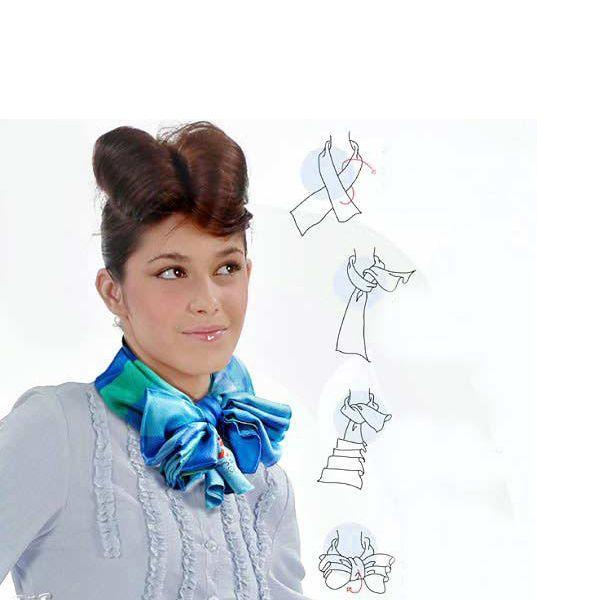Если вы отличаетесь миниатюрным ростом – длинный не завязанный вокруг шеи шарф добавит вам высоты.