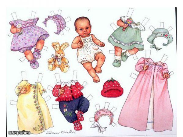 Кукла барби своими руками из бумаги фото 25