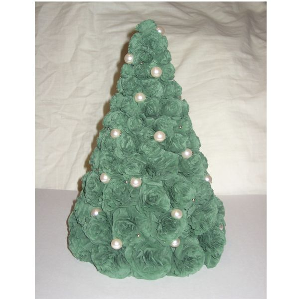 Делаем елку из салфеток своими руками
