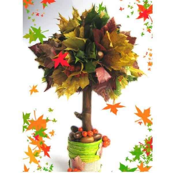 Поделка для сада на тему осени - Поделки на тему Осень своими руками для детского сада и