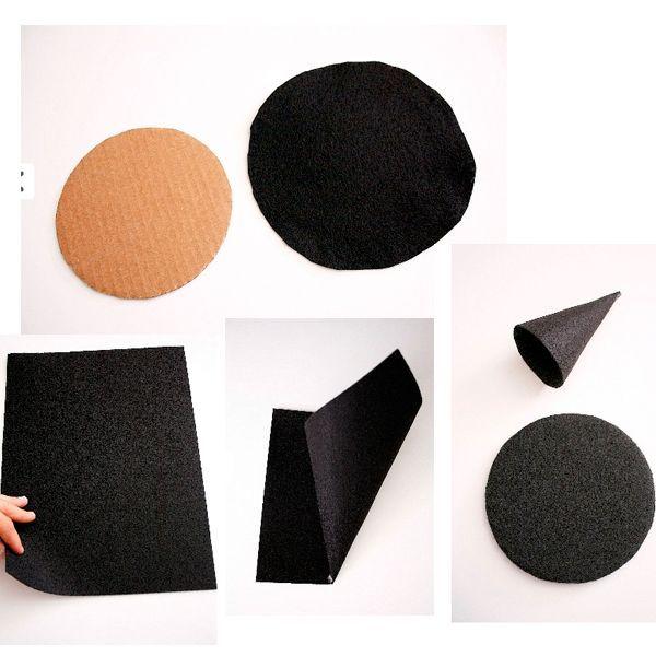 Шить такую шляпку мы будем из флиса. Это плотный нетканый материал, который хорошо держит форму. Работать с ним - одно удовольствие.