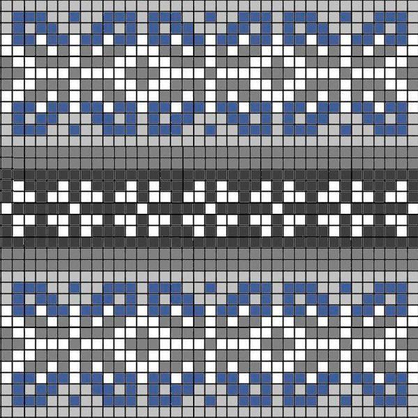 Пряжа для узоров выбирается одной толщины и одинакового состава. Это главное правило норвежских узоров. Если выбрать пряжу разной толщины, изделие будет смотреться неаккуратно.
