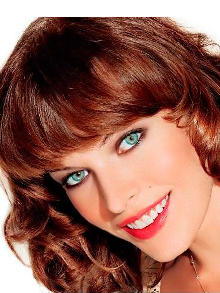 Глубину темно – коричневых глаз подчеркнут все оттенки фиолетового, черный, бирюзовый, темно – серый, темно – коричневый, розовый, золотой, голубой или синий.