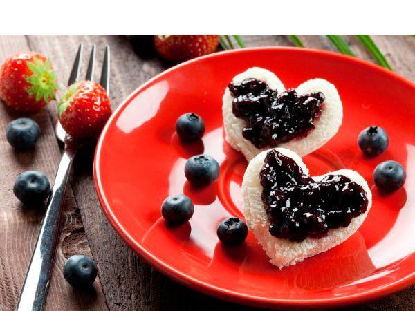 42 идеи оформления блюд на 14 февраля