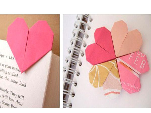 Закладка для книги - вещи нужная. А если она сделана в форме сердечка, то она может стать прекрасным сюрпризом ко Дню Валентина.