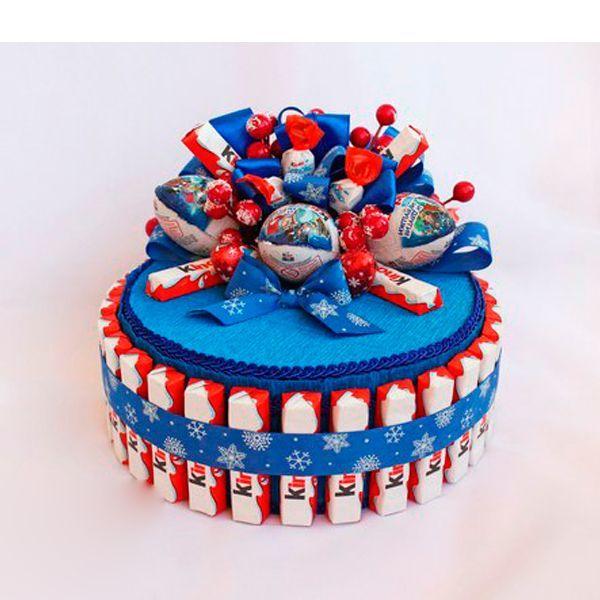 Сделать тортик из конфет своими руками