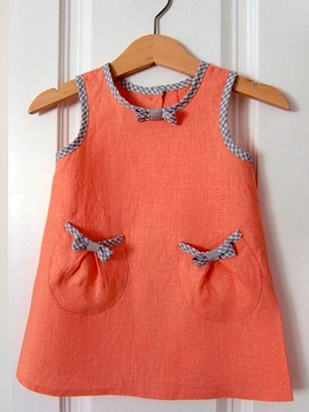 Детские платья — 13 выкроек