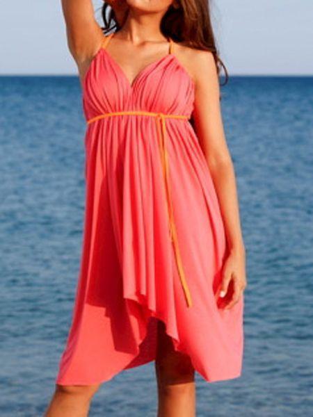 Простые летние платья, выкройки.