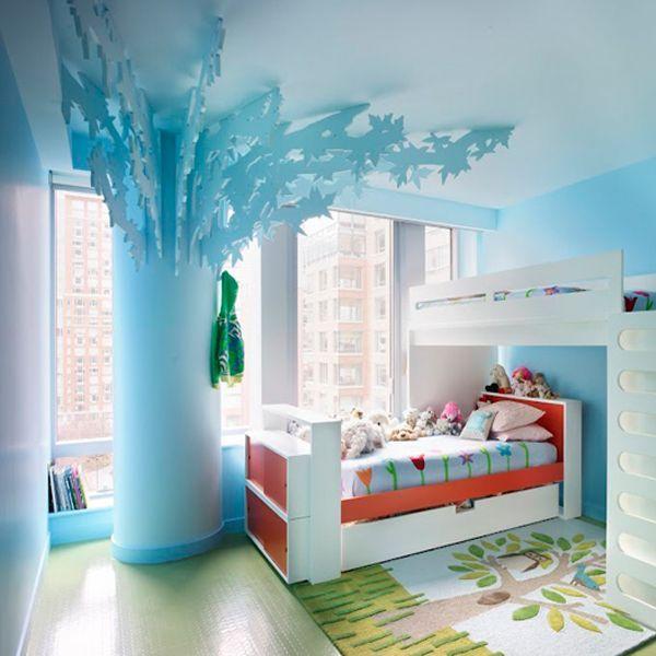 Необычные идеи для детской комнаты