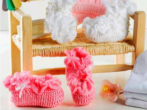 Схемы вязания пинеток.