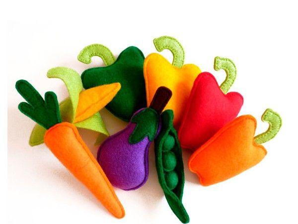 Овощи сделать игрушку своими руками