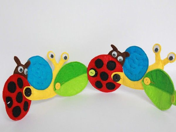 Игрушки из фетра, идеи.