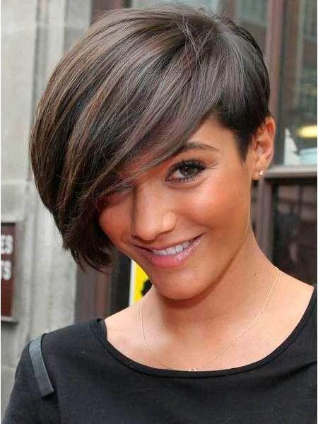 Модные стрижки для коротких волос.