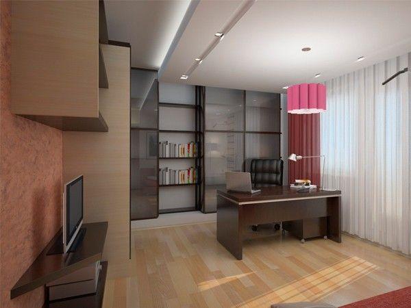 Кабинет в квартире, идеи.