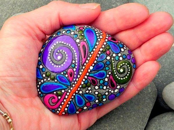 Роспись камней, идеи.