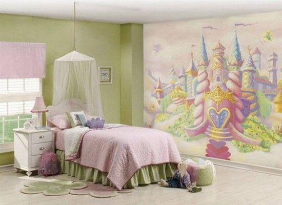 Роспись стен, идеи.