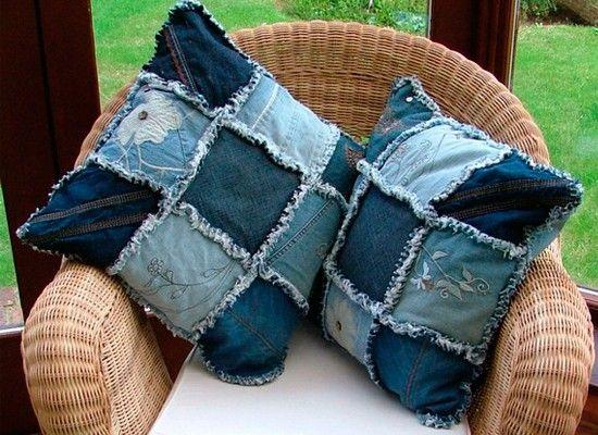 Поделки из джинса, идеи.