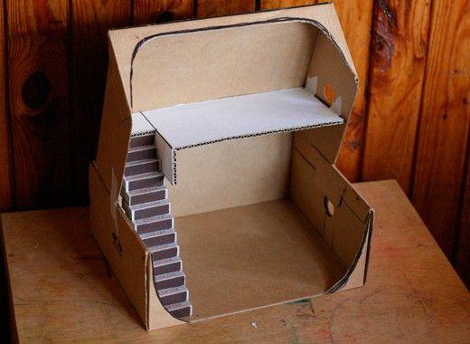 Поделки из коробок, мастер-классы.