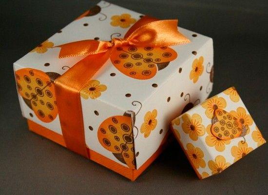 Коробочки для подарков, мастер-классы.