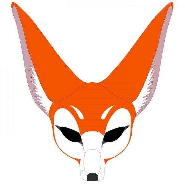 Новогодние маски для детей, шаблоны