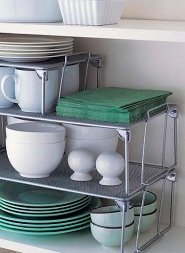 Организация хранения вещей на кухне