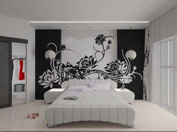 Декор стен с помощью трафаретов