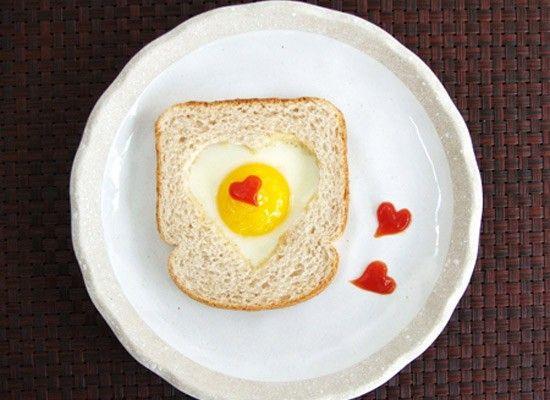 Оформление блюд на 14 февраля