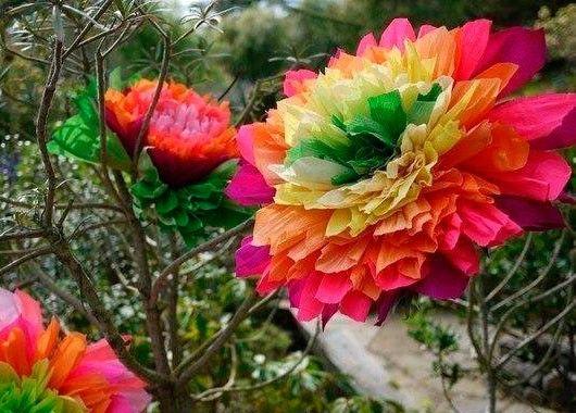 Поделки цветы своими руками