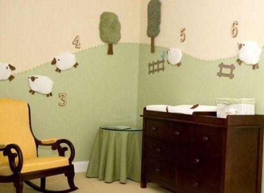 Декор интерьера детской своими руками