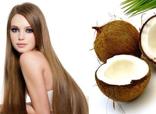 Уход за кожей головы. Массаж кожи головы с кокосовым маслом поможет избавиться от перхоти и предотвратить ее повторное появление.