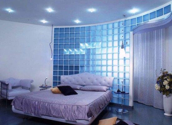 Идеи интерьера со стеклоблоками