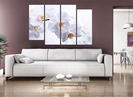 Идеи интерьера с модульными картинами