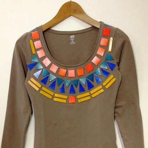 Идеи декора одежды